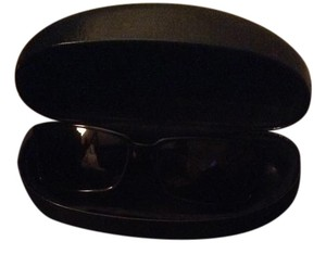 Gucci Black Gucci sunglasses with traditional green and red GG