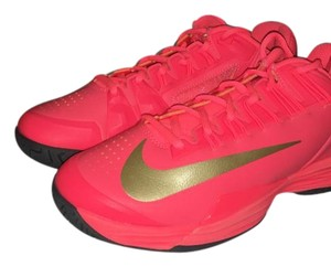 Nike shoes size 6.5 Hot pink and yellow Athletic