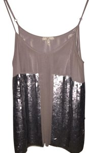 Joie Top Gray and Silver