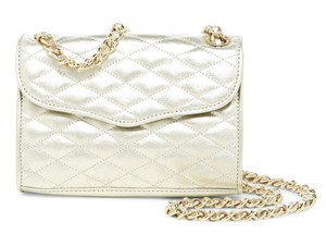 Rebecca Minkoff Affair Gold Cross Body Bag