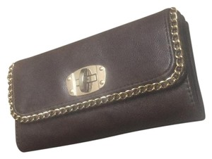 Brown wallet Clutch