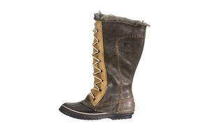 Sorel Winter Fur Warm Green Boots