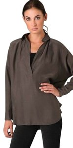Vince Blouse Popover Loden Tunic