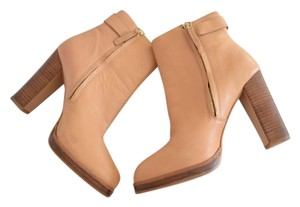 Zara Nude Ankle Boots