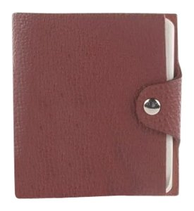 Herms HERMES Togo Ulysse Mini Notebook Cover Brique