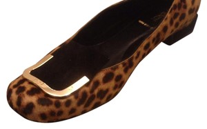 Fendi Black and tan Flats