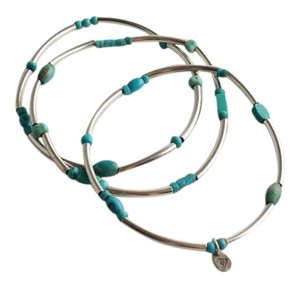 Silpada Silpada Set of 3 Turquoise Stretch Bracelets B2013