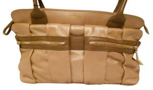 See by Chloé Sophisticated Design Versatile Color Satchel in Taupe