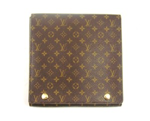 Louis Vuitton Jewelry Case Monogram Canvas Leather