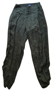 American Eagle Outfitters Relaxed Pants Black and brown