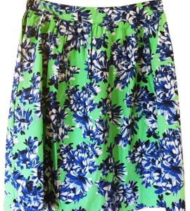 J.Crew Skirt Green, blue, white