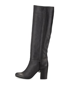 Vince Camuto Signature Black Boots