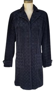 Giacca #giacca #trenchcoats #textured #straighline #black Trench Coat