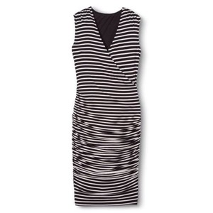 Black and white striped Maxi Dress by Mossimo Supply Co.