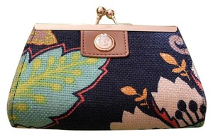Spartina 449 Spartina 449 Brand NEW Amelia Island Linen and Leather Coin Purse
