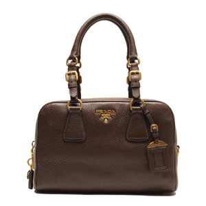 Prada Satchel in Caffe