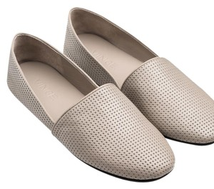 Vince Perforated Taupe Flats