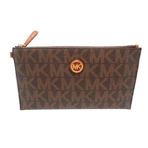 Michael Kors 35s6gftw7b Brown Clutch