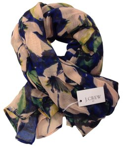 J.Crew Floral Scarf