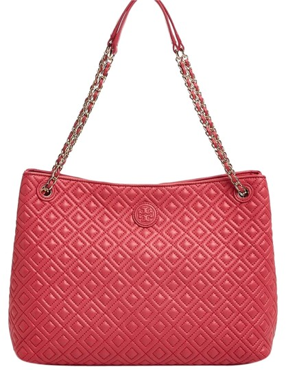 Preload https://img-static.tradesy.com/item/19863897/tory-burch-marion-quilted-dark-peony-leather-tote-0-1-540-540.jpg
