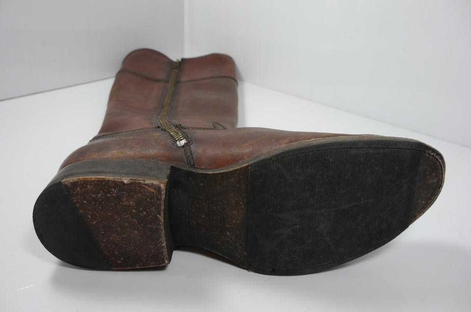 Brown Jamie Ring Booties Whiskey Leather Frye Stonewash Boots Tall OEqW5xwn