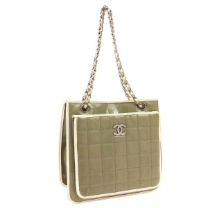 Chanel Tote in taupe beige