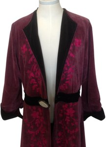 Nataya Vintage Velvet 1920 Fully Lined Long Coat