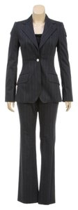 Dolce & Gabbana Dolce & Gabbana Black and Tan Pin Stripe Suit (Size 38)