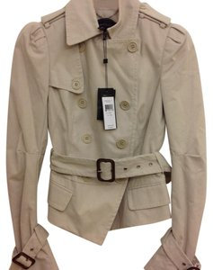 BCBGMAXAZRIA Bcbg Trench Coat Short Trench Buckled Bcbg beige Jacket