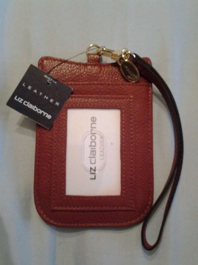 Preload https://img-static.tradesy.com/item/198646/liz-claiborne-cell-phone-carrier-dk-persimmon-leather-wristlet-0-0-540-540.jpg