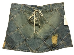 Dexclothing Mini Skirt Denim