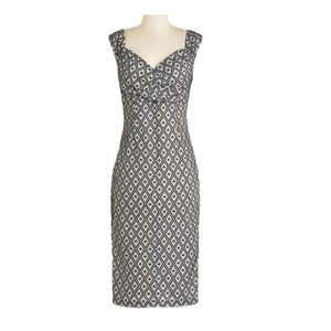 Other Modcloth Rock Steady Lady Love Song Wiggle Retro Dress