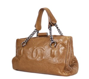 Chanel Gst Tote in Brown