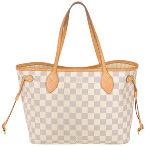 Louis Vuitton Monogram Shopper Tote in White