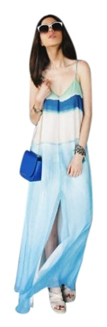Preload https://item3.tradesy.com/images/zara-blue-and-green-tie-dye-ombre-watercolor-long-casual-maxi-dress-size-12-l-19864807-0-3.jpg?width=400&height=650