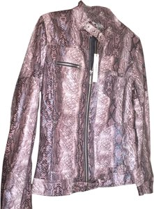 Vertigo Paris Purple Light Brown, Light Pink Jacket