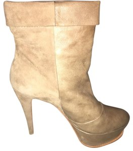Dolce Vita Beige tan leather/seude Boots