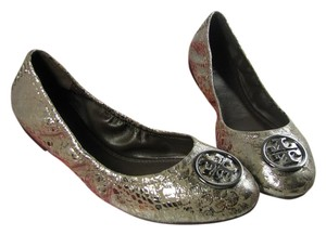 Tory Burch pewter Flats