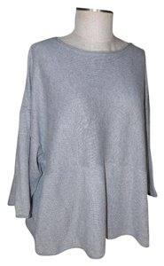 J. Jill Cotton Cashmere Rolled Pocket Sweater