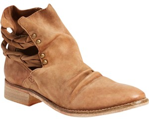 Free People Ankle Boot Distressed Effect Cedar Leather Boots