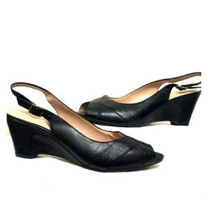 Easy Spirit Never Worn Black Wedges