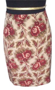 Charter Club Floral Floral Mini Skirt multi color