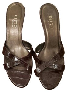Ditto by VanEli Brown Mules