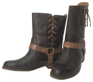 NEW Latigo 'Thistle' Brown Leather Boots Brown Boots