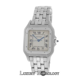Cartier Mint Ladies Midsize Cartier Panthere 1310 Stainless Steel 27mm