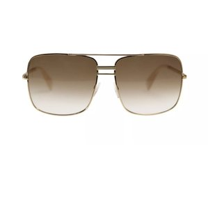 Céline Gold Frame Square Eye Sunglasses
