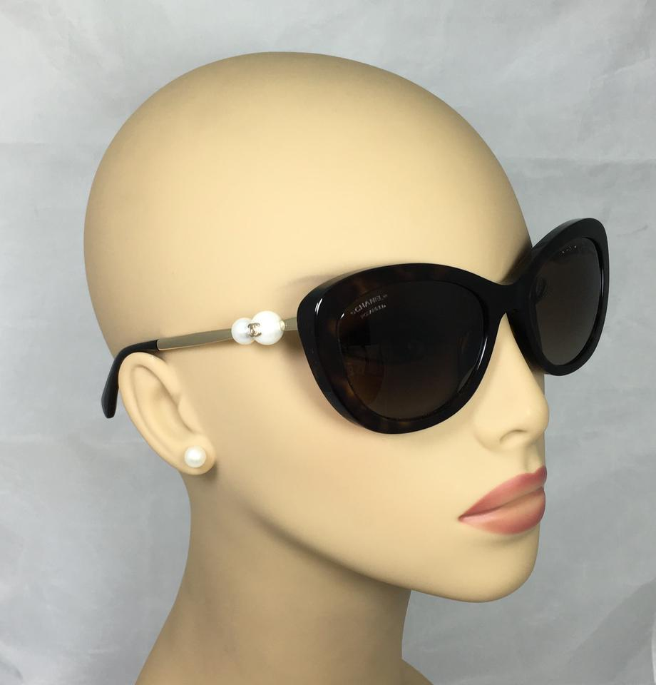 368077c79e2 Chanel Chanel Polarized Havana Pearl Chanel Sunglasses 5340-H c.714 S9 55  ...