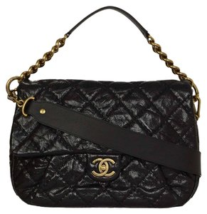 Chanel Classic Jumbo Crossbody Flap Black Messenger Bag