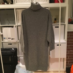 Acne Studios short dress grey melange New With Tags 100 Wool Sweater on Tradesy