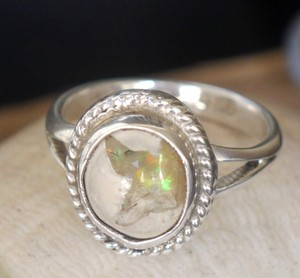 Other Mexican TAXCO Sterling Silver OPAL Gemstone Ring